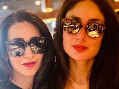 Stunning photos of Kareena and Karisma