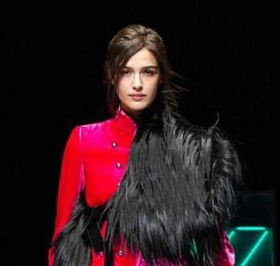 Emporio Armani nods to 1980s in fall line at Milan Fashion Week