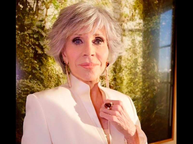 Stories can change people: Jane Fonda calls for representation in Cecil B DeMille Award speech