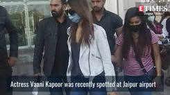 Vaani Kapoor wears flared jeans in style