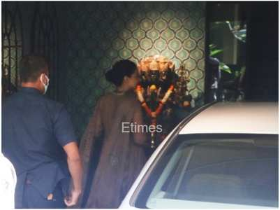 Exclusive pics: Kangana visits her office