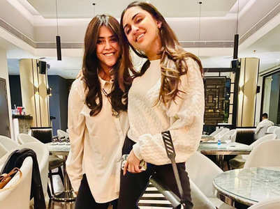 Ekta Kapoor wishes Krystle adorably on b'day