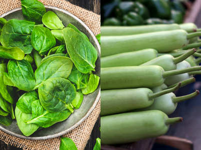 Green leafy vegetables vs. green vegetables