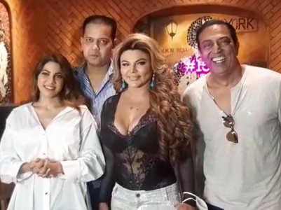Nikki, Jaan, Sonali at Rakhi's post-BB party