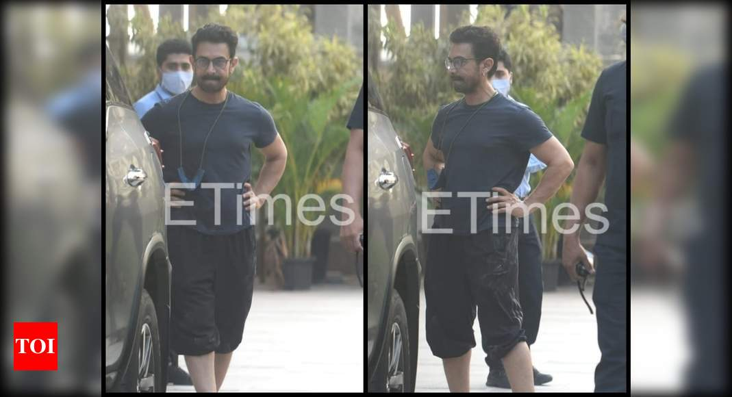 Exclusive photos! Aamir Khan to buy a new apartment in Bandra; details inside - Times of India