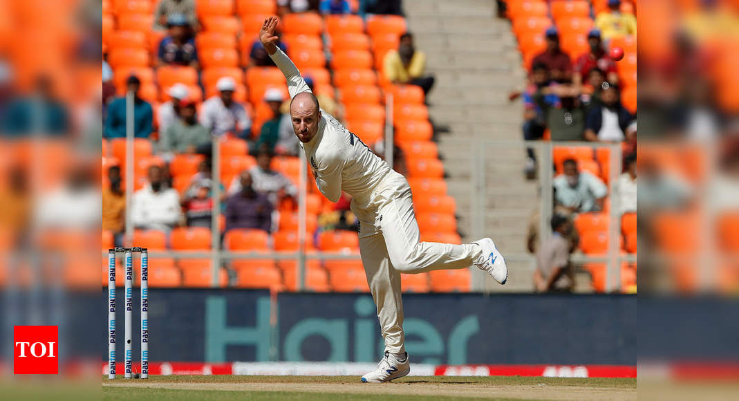 India vs England: 'Cricket fan' Leach wants Test matches to last longer than two days | Cricket News – Times of India