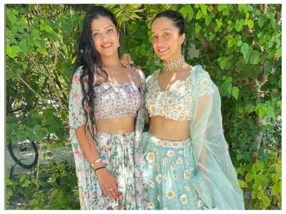 Asha's granddaughter twins with Shraddha