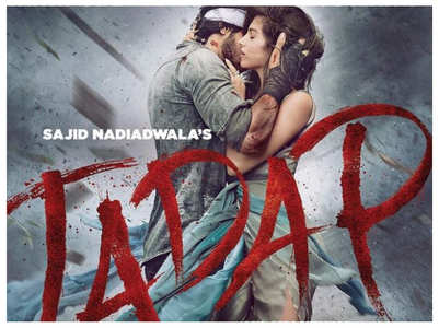 Ahan-Tara share 'Tadap' first poster