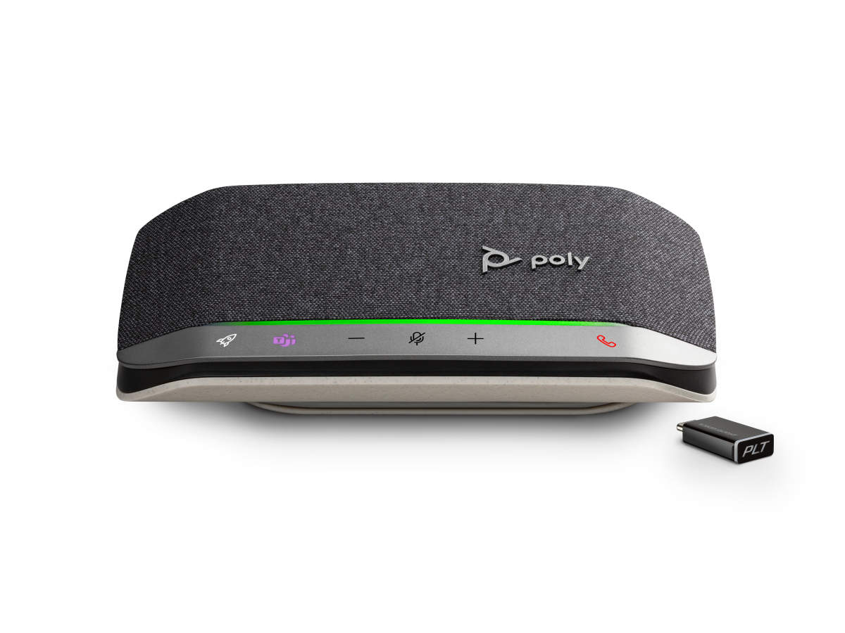 Poly introduces speakerphones that bring professional-quality audio to your home & office