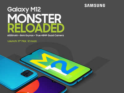 Check out the brand new Samsung Galaxy M12