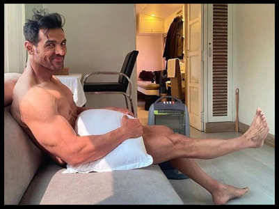 7 times John Abraham went shirtless