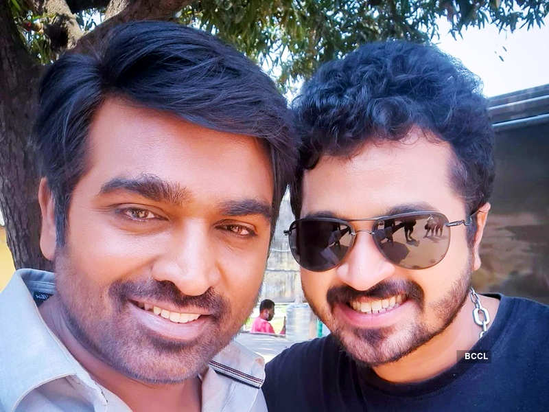 SSR Aaryann shares his fanboy moment with actor Vijay Sethupathi; see pics (Photo - Instagram)