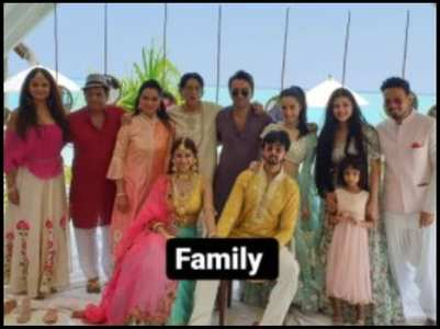 Shraddha's family pic with Rohan goes viral