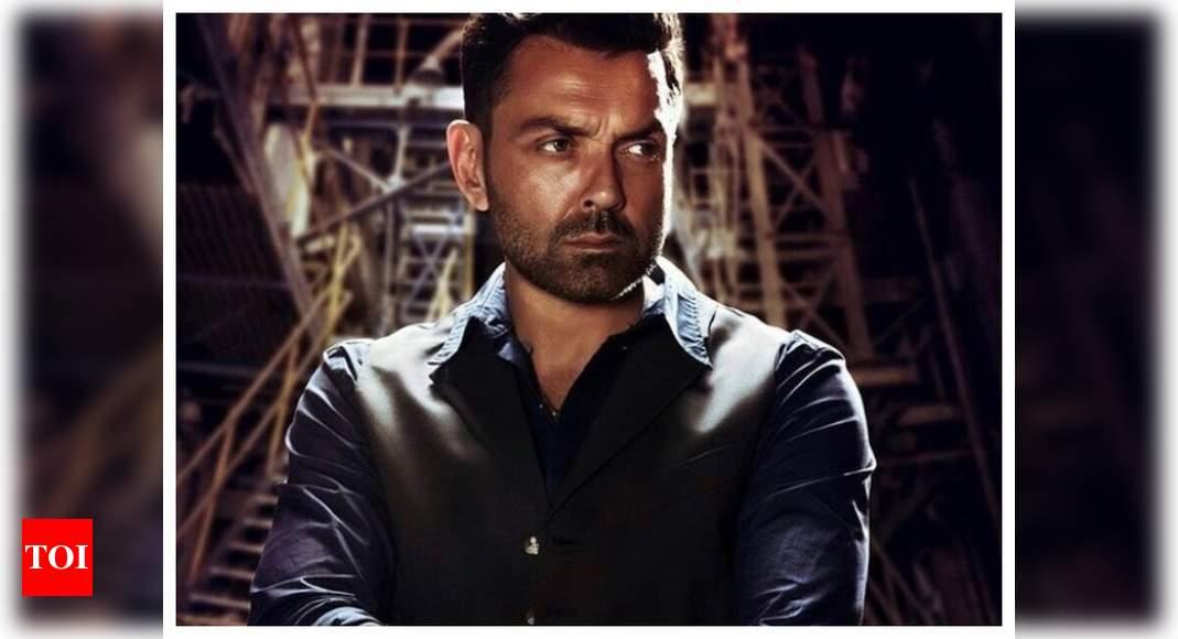 Bobby on his Best Actor award for 'Aashram'