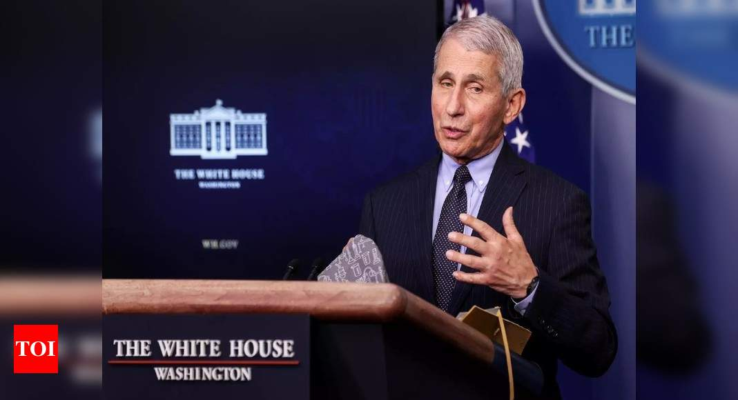 Anthony Fauci: US must stick to two-shot strategy for Pfizer, Moderna Covid-19 vaccines, says Fauci | World News – Times of India
