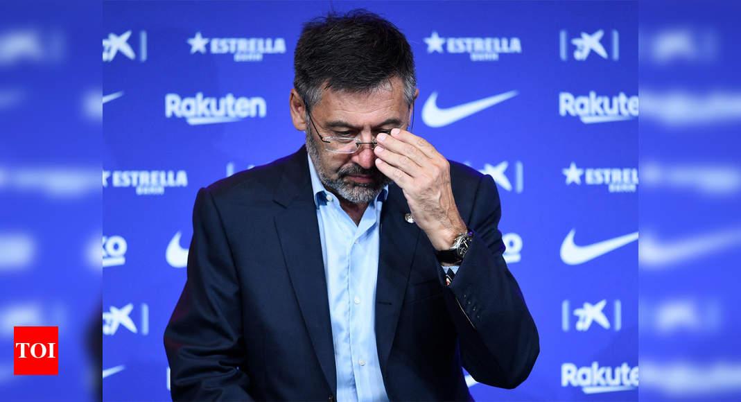 Former Barcelona chief Bartomeu released day after arrest