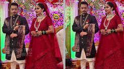 Marathi actress Namrata Pradhan ties the knot