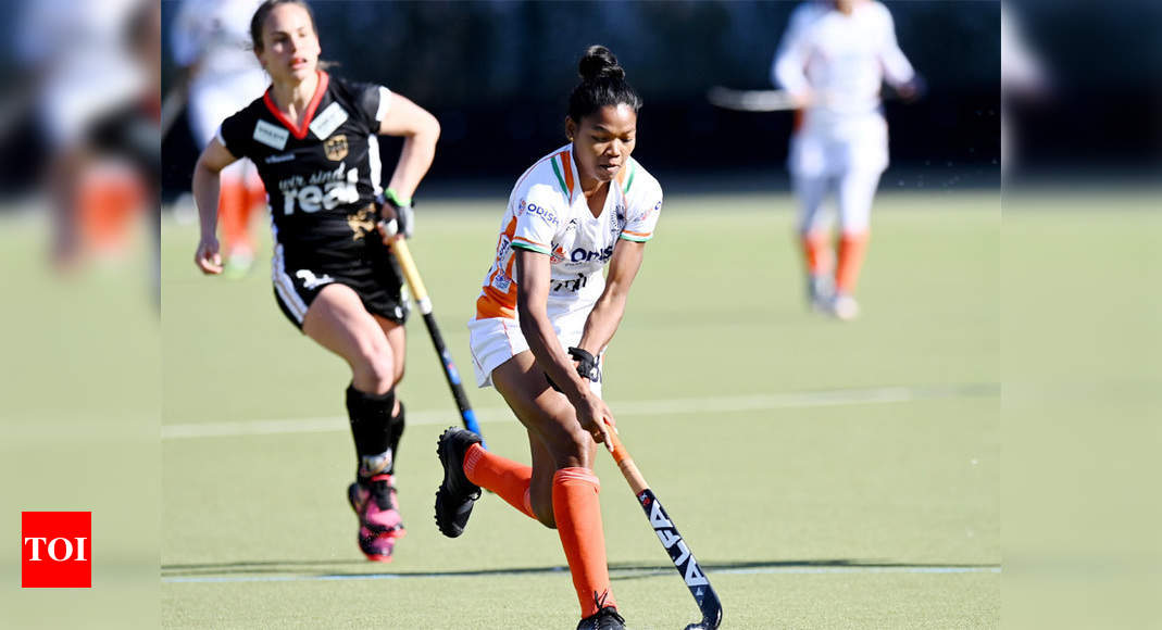 Indian women's hockey team loses 0-2 to Germany in 3rd game