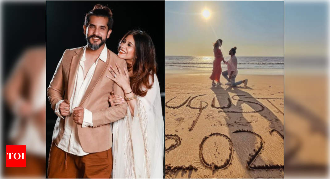 Kishwer Merchant and Suyyash Rai to become parents soon; the couple announces with a beautiful post - Times of India