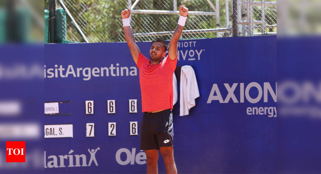 Sumit Nagal enters Argentina Open main draw