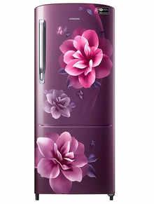 Samsung Single Door 192 Litres 3 Star Refrigerator Camellia Purple RR20A272YCR