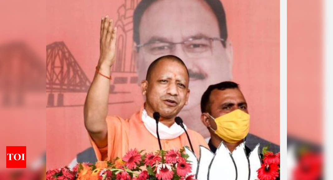 'Love jihad', cow killing...: Yogi hard sells UP formula in Bengal
