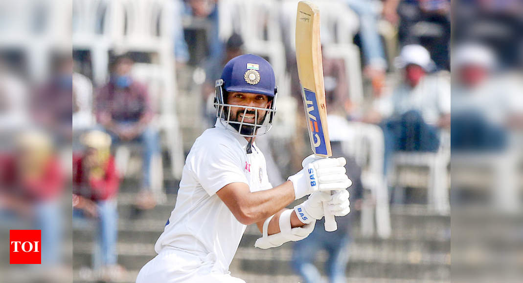 India vs England: 'Team man' Ajinkya Rahane bats for himself - Times of India