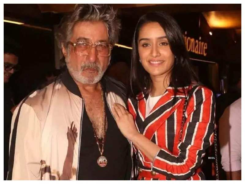 "Shakti Kapoor feels his daughter Shraddha Kapoor is God's gift to him, calls her a ""golden child"""