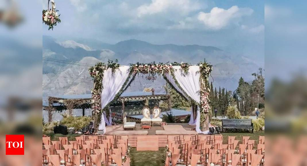 Luxury destination weddings back in India