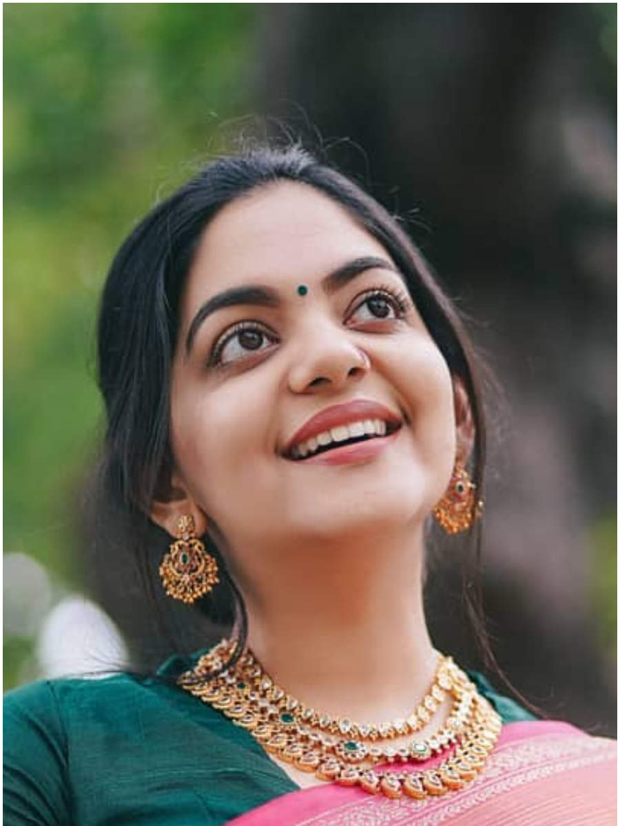 Best saree looks of Ahaana Krishna