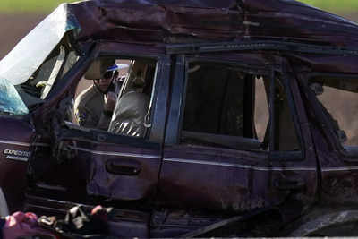13 killed in California crash allegedly breached Mexico fence, entered USA illegally