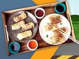 Thai Rolls with Tofu