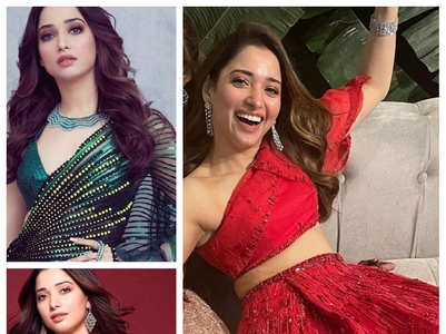 Wedding looks inspiration from Tamannaah
