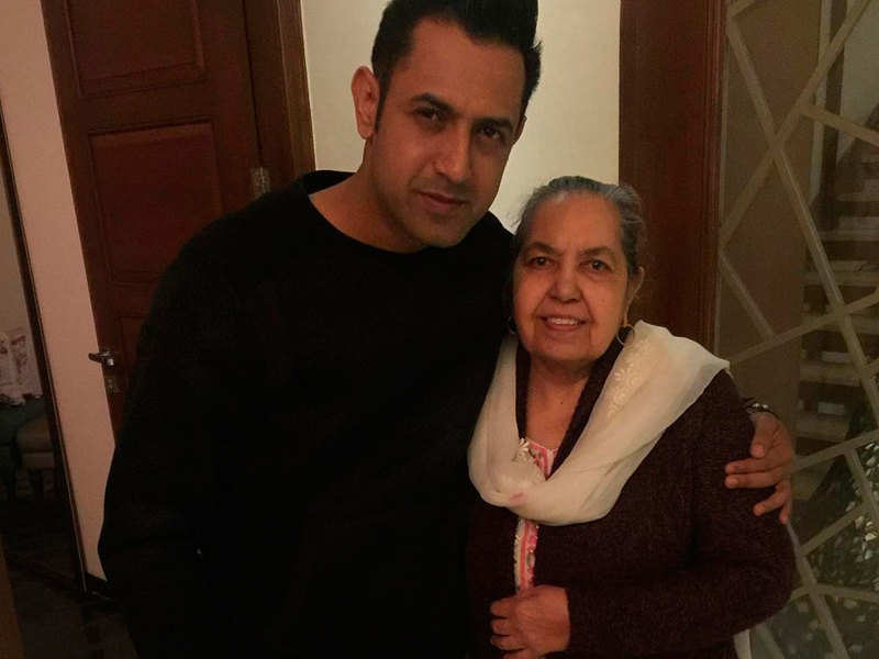 Gippy Grewal shares a sweet post on his mother's birthday