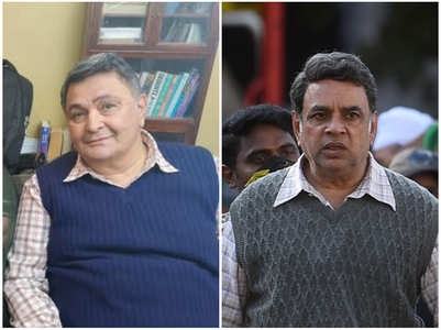 Paresh Rawal wraps up 'Sharmaji Namkeen'