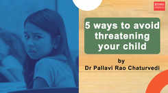#MindfulParenting: 5 ways to avoid threatening your child