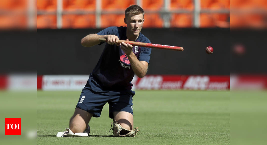 India vs England: Pitch looks very similar to last Test, says Root | Cricket News – Times of India