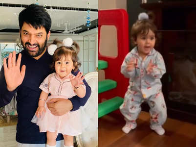 Kapil shares daughter Anayra's dance video