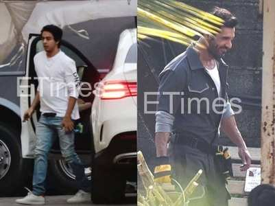 Pap diary: Aryan visits SRK; John films his next