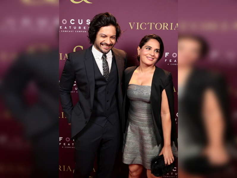 Richa Chadha & Ali Fazal's first Indian production challenges gender taboos