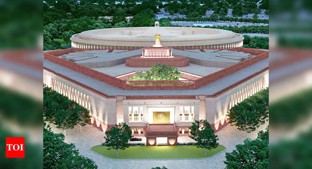 Tunnels to link PM, VP homes to new Parliament building |  India News – Times of India