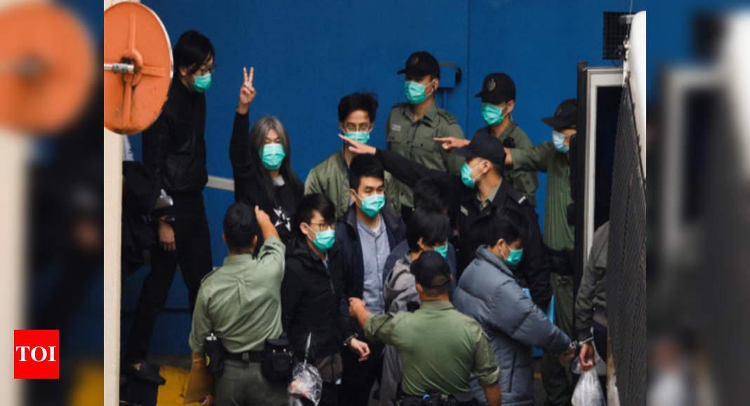 Hong Kong activists' court hearing enters 4th day