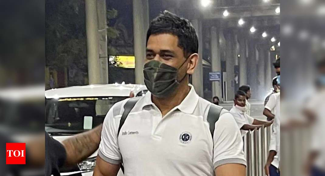 IPL 2021: Dhoni in Chennai; CSK training camp likely from March 9 - Times of India