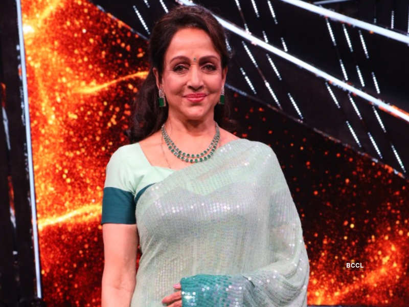 Indian Idol 12: Hema Malini on playing Basanti in Sholay, 'It was one of  the toughest roles I have done' - Times of India