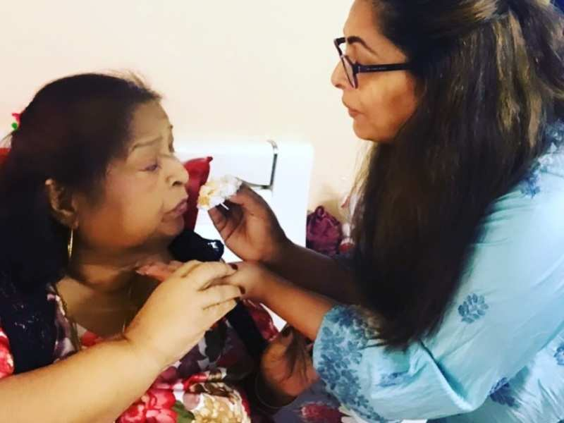 Geeta Kapur posts a sweet photo with her mother on her birth anniversary; Archana Puran Singh, Dharmesh Yelande and others send love