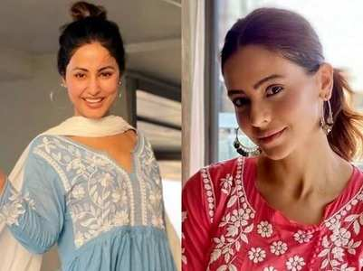 TV actresses and their love for Chikankari