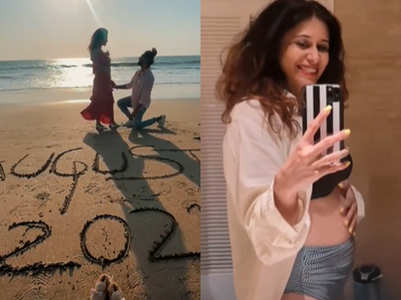 Kishwer gives first glimpse of her baby bump