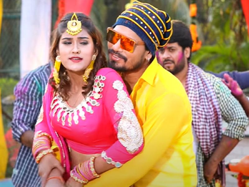 Pravesh Lal Yadav releases a Holi special song 'Holi Mein Sakar Ke Nakar Gaeel'