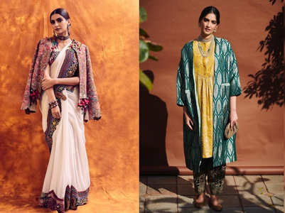 Take cues from Sonam Kapoor Ahuja to dress up in Indian wear for a wedding