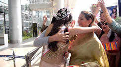VLCC Femina Miss Grand India 2020 - Manika Sheokand Gets A Grand Welcome